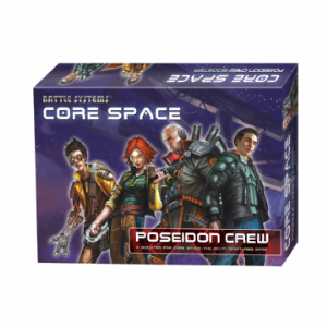 Core Space Crew - Poseidon
